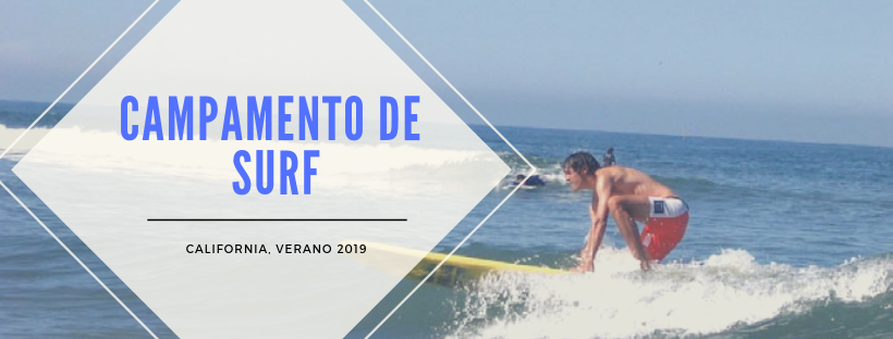 Campamento de Surf  en California, verano 2021