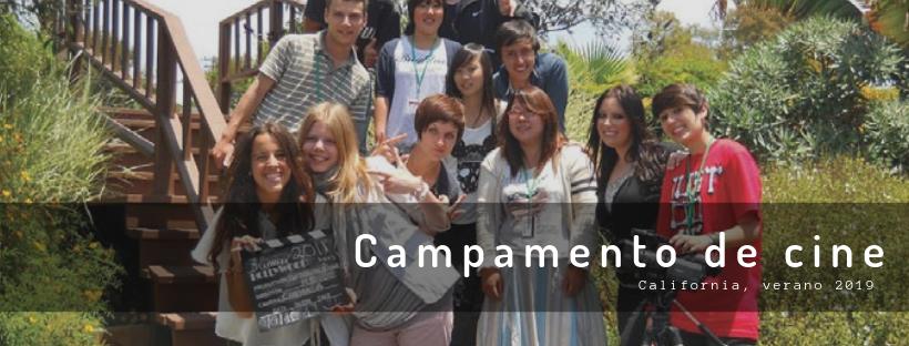 Campamento de cine en California, verano 2021