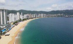 sea city landscape beach